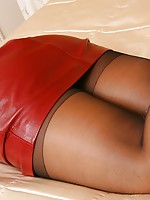 lesbian funk with nylons