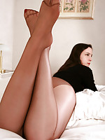 great legs in pantyhose or nylons and lesbians
